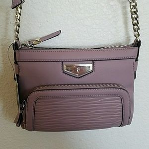 Vera Wang plum contemporary Easton crossbody